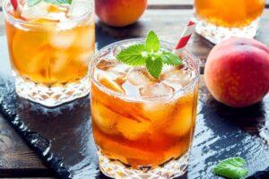 instant pot peach tea