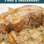 Instant Pot Pork & Sauerkraut