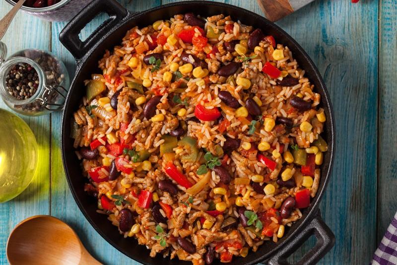 bowl of spanish rice